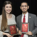 """Jason Jewell, from Louisville, and Jessica Morgan, from Midway, Kentucky, have been named """"Mr. and Ms. Cardinal"""" for 2017."""