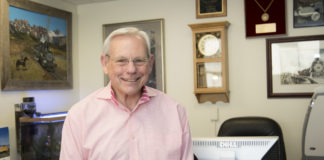 Dr. Robert Staat will retire from full-time teaching at the end of this semester, after more than 40 years at UofL.