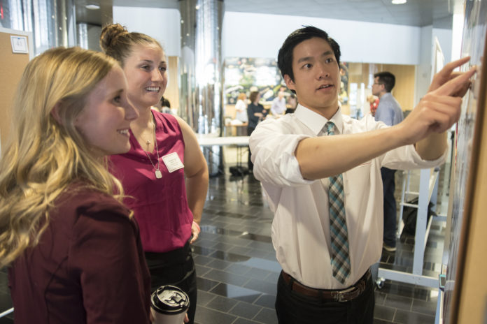 More than 60 sophomores and juniors spent the summer in research labs alongside UofL scientists, and were able to present their research projects at a poster session earlier this month.