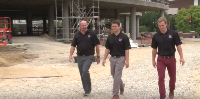 Speed graduates with Whittenberg and Henderson Services, are guiding the design and construction projects at UofL.