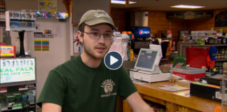UofL student Cody McDowell was featured in a recent CBS This Morning story about the authenticity of Abraham Lincoln's log cabins in Hodgenville.