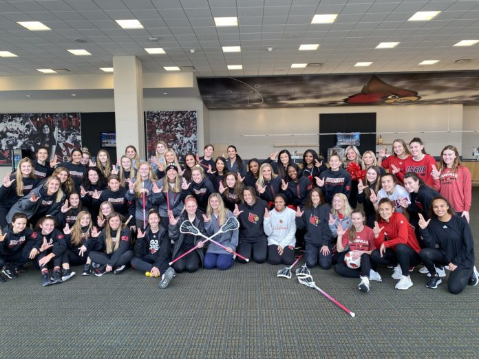 This marks the sixth consecutive year that UofL has ranked in the top 10 in all of Division I in community service.
