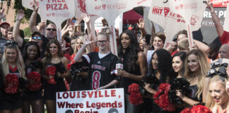 ESPN College GameDay was last on UofL's campus in 2017.